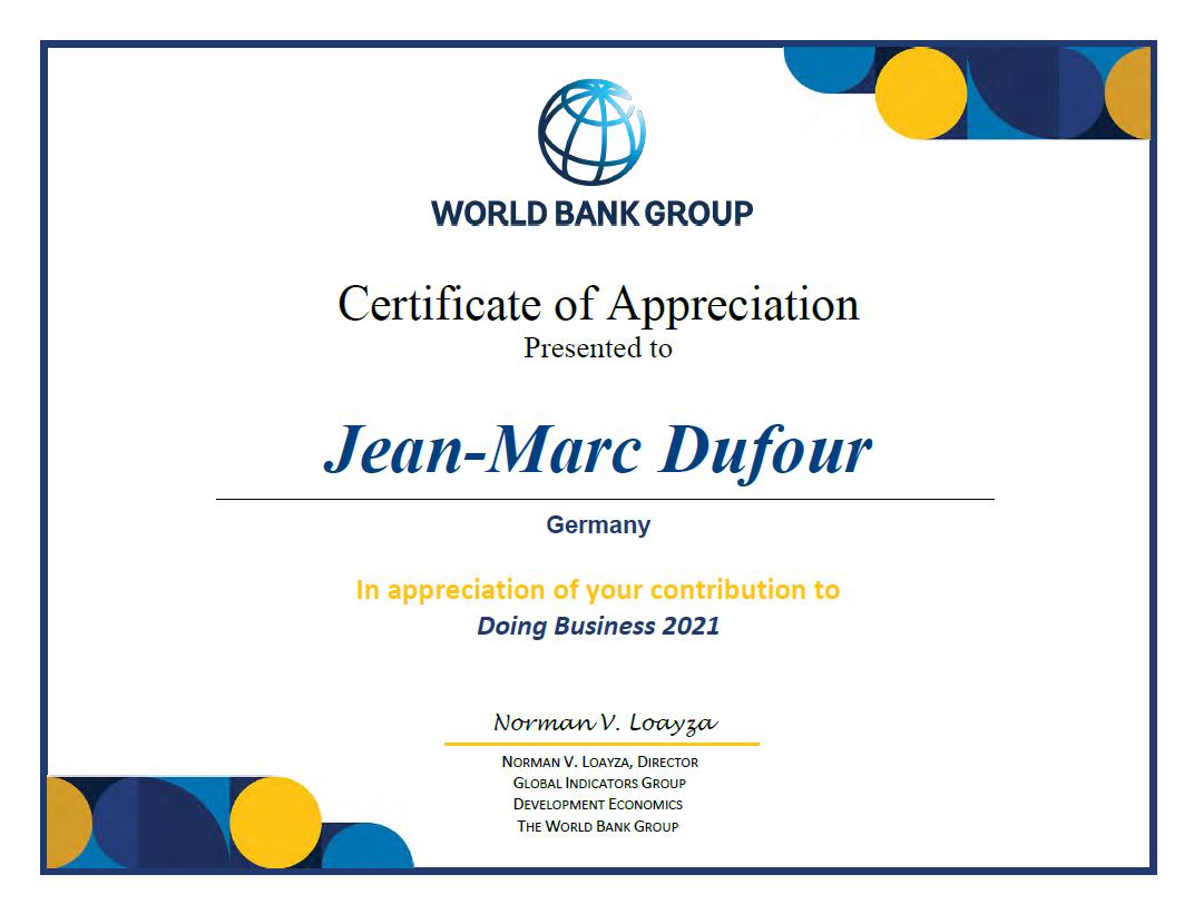 Doing Business 2021 Jean-Marc Dufour DSBrowserBusiness